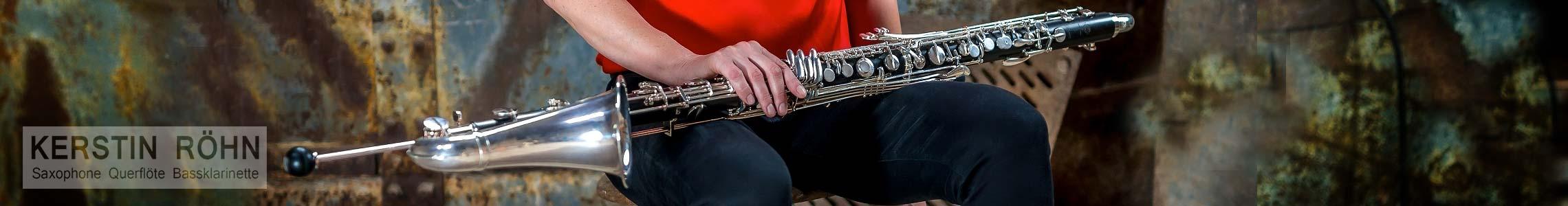 Kerstin Röhn - Saxophone, Klarinette, Flöte